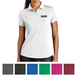 Nike Golf Ladies Dri-FIT Players Modern Fit Polo - Ladies 100% polyester polo with moisture wicking and a five-button placket.