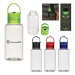16 Oz. Tritan Luminescent Bottle - BPA free 16 oz. bottle made of durable Tritan material that's impact and shatter resistant with an easy carry handle