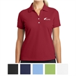 Nike Golf Ladies' Dri-FIT Classic Polo - Ladies Nike Gold Dri-FIT polo made of 100% polyester with pearlized buttons.