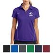 Nike Golf Ladies' Dri-FIT Sport Swoosh Pique Polo - Ladies' Swoosh polo with five-button placket and Dri-FIT moisture management.