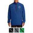 Nike Golf 1/2-Zip Wind Shirt - 1/2-zip wind shirt with front zippered pockets, adjustable cuffs, and an open hem with drawcord and toggle