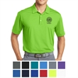 Nike Golf Dri-FIT Vertical Mesh Polo - Vertical mesh polo with Dri-FIT moisture management technology, self-fabric collar, and three-button placket.