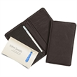 Cross Canyon Leather Business Card Case And Wallet - Business card case with simple fold over design, doubles as a credit card wallet.