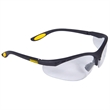 DeWalt® Reinforcer™ Safety Eyewear - Safety Eyewear with Cushioned, Rubber Temple Pads. Soft, Rubber Nosepiece.