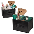 """Doctor & Nurse Mug and Tissue w/Teddy Bear and Hot Cocoa Set - One 7"""" teddy, one mug, chocolate on a spoon and pack of tissues."""
