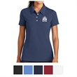 Nike Golf Ladies' Nike Sphere Dry Diamond Polo - Polyester/spandex ladies polo with moisture management and minimal cling thanks to the textured inner surface.