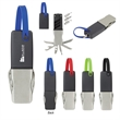7-In-1 Multi-Function Tool - Multifunction tool with knife, screwdriver, wrenches, bottle/can opener, fish scaler/hook remover and magnetic port.