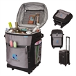 """Riviera iCOOL® Trolley Cooler Bag - 11.5"""" x 18"""" x 11.5"""" Riviera iCOOL trolley cooler bag with heat-sealed PEVA lining, thick padded insulation and bottom stiffener."""