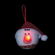 Snowman LED Ornament with Santa Hat