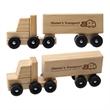 """Wooden Semi Truck - 8 3/8"""" x 2 7/8"""" x 1 7/8"""" wooden truck"""