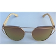 Bambi - ladies fashion sunglass with bamboo arms.