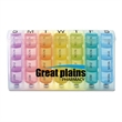 Rainbow Spring Loaded 7-Day Pill Box