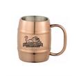 14 Oz. Barrel/Keg Moscow Mule Mug - 14 Oz. Barrel/Keg Moscow Mule Mug