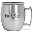Stainless steel Moscow mule mug, 14 oz - Stainless steel Moscow mule mug, 14 oz, rolled up drinking rim, traditional design handle, perfect for your favorite drink.