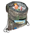 Camo Insulated Drawstring Backpack Cooler Bag - Camo Insulated Drawstring Backpack Cooler Bag