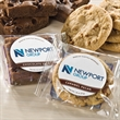Custom Label Brownies - Feel connected with custom label brownies and cookies - your logo on the package.