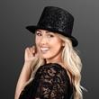 Classy Costume Black Top Hat (NON-Light Up) - Classy Costume Black Top Hat (NON-Light Up); Blank Pricing