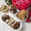 Christmas Bakery Gift Assortment - Gift box full of holiday baked goods.