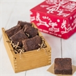 Chocolate Chunk Brownie Nibbler Gift - Shaker-style box containing 6 individually wrapped Chocolate Chunk Brownies.