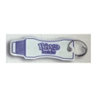 Key Tag - Bingo scratcher key tag with split ring and sharp edge.