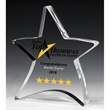 """3/4"""" Thick Moving Star Paperweight"""