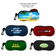 Neoprene Sunglass Pouch - Neoprene sunglass pouch with zipper closure.