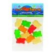 1 oz Gummy Bears / Header Bag - Customizable clear header bag filled with gummy bears, 1 oz.