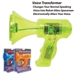 Voice Transformer - The electronic voice transformer is an electronic bull horn like device.