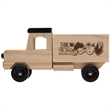 """Wooden Truck - 7 1/2"""" x 2 1/8"""" x 2"""" wooden truck, customized to meet your promotional needs"""