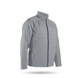 Hybrid Jacket - Hybrid Jacket deal for cooler days, combines the warmth of quilted body panels with motion-friendly stretch.