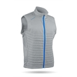 Hybrid Vest - Hybrid Vest Ideal for cooler days,  combines the warmth of quilted body panels with motion-friendly stretch panel.