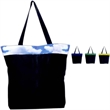 Monterey Tote - Stylish tote made of a rip-stop nylon exterior and a fully lined interior. Shoulder length cotton webbing handles.