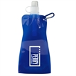 16 oz Voyager Collapsible Pouch - 16 oz collapsible water bottle.