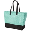 Brookson Bay Full Pattern Beach Tote Bag - Full pattern beach tote bag made of 100% Cotton canvas.