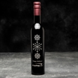 Etched Balsamic Vinegar - Hand etched and hand painted bottle of Balsamic Vinegar