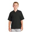 New Era Youth Cage Short Sleeve 1/4-Zip Jacket. - New Era Youth Cage Short Sleeve 1/4-Zip Jacket.