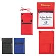 Non-Woven Neck Wallet Badge Holder - Non woven neck wallet badge holder.