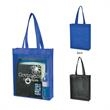 """Non-Woven Clear View Tote Bag - Non-Woven Clear View Tote Bag.  Made of PVC and 80 Gram Non-Woven, Coated Water-Resistant Polypropylene.  Reinforced 22"""" Handles."""