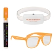 Summer Night Kit - A kit with glow-in-the-dark glasses, a glow wristband, and insect repellent spray.