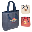 """Classic Outing Tote Bag - 3.75"""" x 17.375"""" x 15.3125"""" tote bag made of paper straw 190 taslan polyester lining with handles and inside open pocket"""