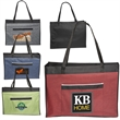 """Big Event Tote - Jumbo tradeshow tote bag that measures 5"""" x 21"""" x 15"""" made of 600 denier polyester material"""