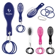 Hair Brush And Bands With Carabiner
