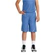 Sport-Tek Youth PosiCharge Mesh Reversible Spliced Short. - Sport-Tek Youth PosiCharge Mesh Reversible Spliced Short.