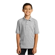 Port & Company Youth Core Blend Jersey Knit Polo. - Port & Company Youth Core Blend Jersey Knit Polo.