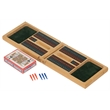 Cribbage Game Gift Set - Cribbage Game Gift Set includes; 3 blue pegs, 3 red pegs, and a deck of cards.