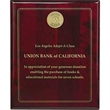 "Rosewood Plaque - 8"" x 10"" - Rosewood Plaque - 8"" x 10"". Can be displayed via wall mount or stand-alone."