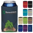 Collapsible Eco KOOZIE® Can Kooler - Collapsible Eco Can Kooler made with post consumer recycled material.