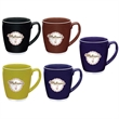 Large Color Bistro with Accent Mug - 20 oz - Large ceramic mug with accent and glossy finish, 20 oz.