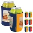 Dual Color KOOZIE® Can Kooler - Dual Color Can Kooler with dual color sides.