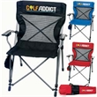The Deluxe Chair - Deluxe chair made of 600 denier polyester, features support seating technology.